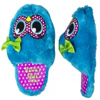 Furry Owl Face Slippers | Girls Slippers Shoes | Shop Justice