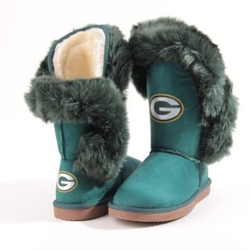 Women's Green Bay Packers NFL Cuce Champions Boots