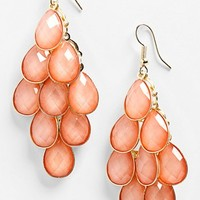 Carole Beaded Drop Earrings (Juniors)