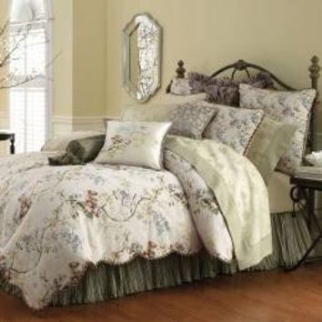 Waterford Kiana Bedding by Waterford Bedding, Comforters, Comforter Sets, Duvets, Bedspread, Quilts, Sheets & Pillows: The Home Decorating Company