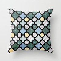 Unlikely Compliments Throw Pillow by Bunhugger Design | Society6