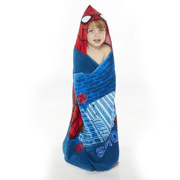 Marvel Spider-Man Bath Wrap (Blue)
