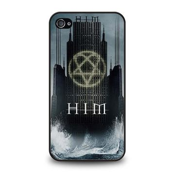 HIM BAND HEARTAGRAM iPhone 4 / 4S Case Cover