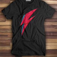 Ziggy Stardust Flash T shirt, Printed Tshirts, Printed tees