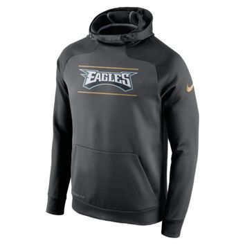 Nike Championship Drive Hyperspeed Pullover (NFL Eagles) Men's Training Hoodie