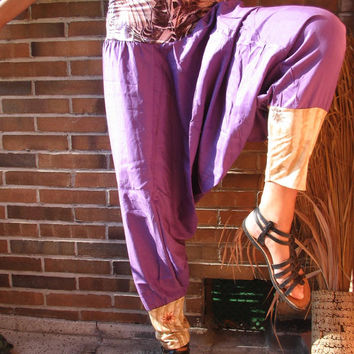 TALL Women Clothing EXTRA LONG Pants purple pants xxl violet pants xl Plus Size pants 18 20 pants tall yoga pants tall beach pants cotton