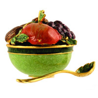 Fruit and Nut Bowl with Spoon