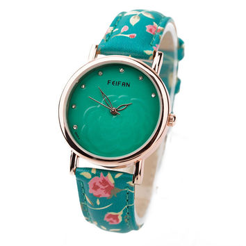 Good Price PU Leather Waterproof Water Proof Quartz Watch = 4815469572