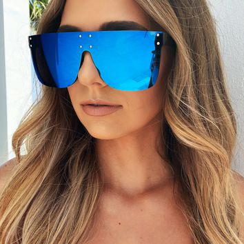 Shield My Look Shades: Blue
