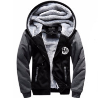 Black and Grey Dragon ball z Goku's Hoodie