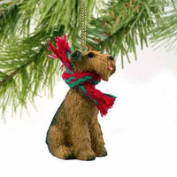 Airedale Terrier Miniature Dog Ornament