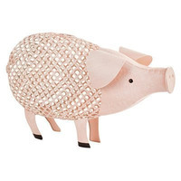 Country Cottage Pig Cork Holder by Twine
