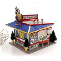 Department 56 House Frozen Swirl Village Lighted Accessory