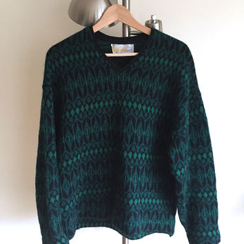 Original Iceland Scandinavian Lambs Wool Sweater (Vintage)
