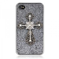 Rhinestone Cross iPhone 4 / 4S Case