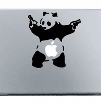 Banksy Panda Macbook Decal Mac Apple skin sticker