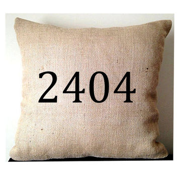 House Number Rustic Decor, Zip Code Pillows, Rustic Address Pillows, Cabin Number Pillows, Country Home Decor