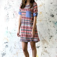 Aztec Sunset Pocket Tunic