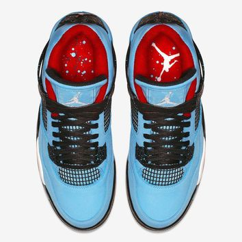 Air Jordan 4 x Travis Scott Basketball Shoes US7-13