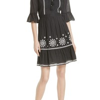 kate spade new york mosaic embroidered dress | Nordstrom