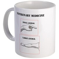 CafePress - Veterinary Medicine Mug - Unique Coffee Mug, Coffee Cup