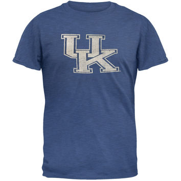 Kentucky Wildcats - Logo Scrum Premium Adult T-Shirt