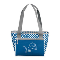 NFL Detroit Lions Chevron 16-Can Cooler Tote