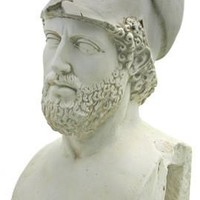 Pericles Athenian Statesman Greek Bust Large 23H - 5617
