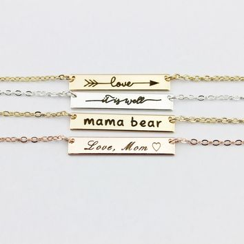 MaMa Bear Necklaces plus