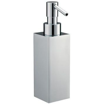 BA Quattro Pump Soap Lotion Dispenser Bathroom or Kitchen - Brass Chrome