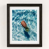 Dean Martindale The Floating Pineapple Art Print