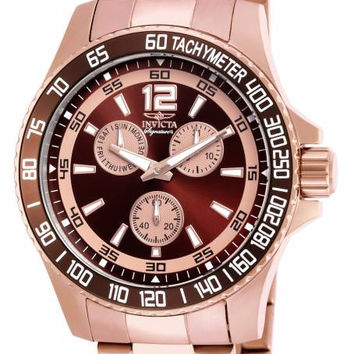 Invicta Men's 7010 Signature Collection Rose Gold