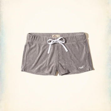 Girls Terry Icon Shorts | Girls New Arrivals | HollisterCo.com