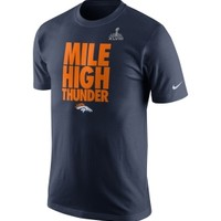 Nike Men's Denver Broncos Super Bowl XLVIII Bound Local T-Shirt