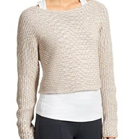 Athleta Womens Chainette Sweater