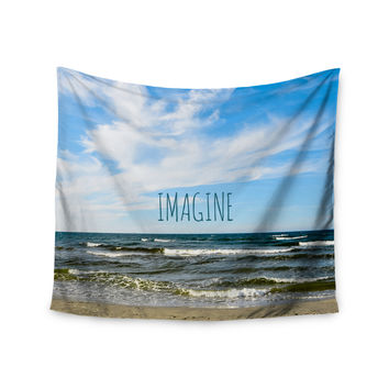 "Iris Lehnhardt ""Imagine"" Beach Sky Wall Tapestry"