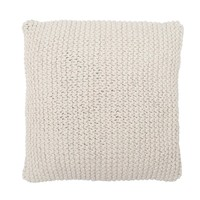 Nessie Knit Pillow - Natural