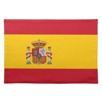 Spanish Flag on MoJo Placemat