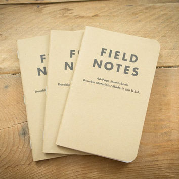 Field Notes Memo Books (Set of three)