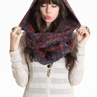 Hide  Seek Hoodie Scarf - $29.00 : ThreadSence.com, Your Spot For Indie Clothing  Indie Urban Culture