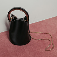 Chain Strap Bucket Bag and WalletThe delivery starts from April along with your purchase order!!