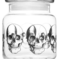 SOURPUSS EXCLUSIVE ANATOMICAL SKULL APOTHECARY JAR - Sourpuss Clothing