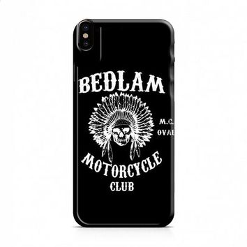 Bedlam Motorcycle Club iPhone X case