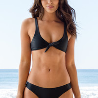 Stone Fox Swim - Hana Top | Storm