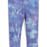 Infant Girl's Burt's Bees Baby Tie Dye Leggings,