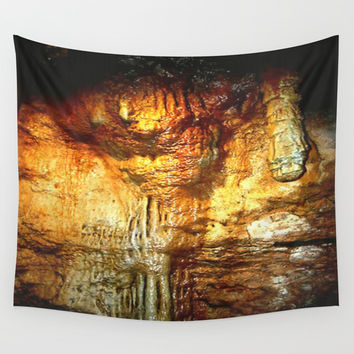 Reflections inside a Dolomite Cave Wall Tapestry by Chris' Landscape Images & Designs