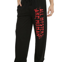 American Horror Story All Monsters Are Human Guys Pajama Pants