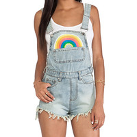 UNIF Rainbow Jumper in Blue