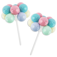 Pastel Balloon Picks