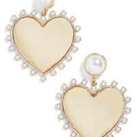 BaubleBar Amalia Imitation Pearl Earrings | Nordstrom